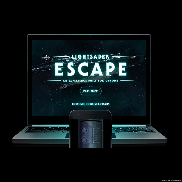 Google lança jogo interativo de Star Wars!