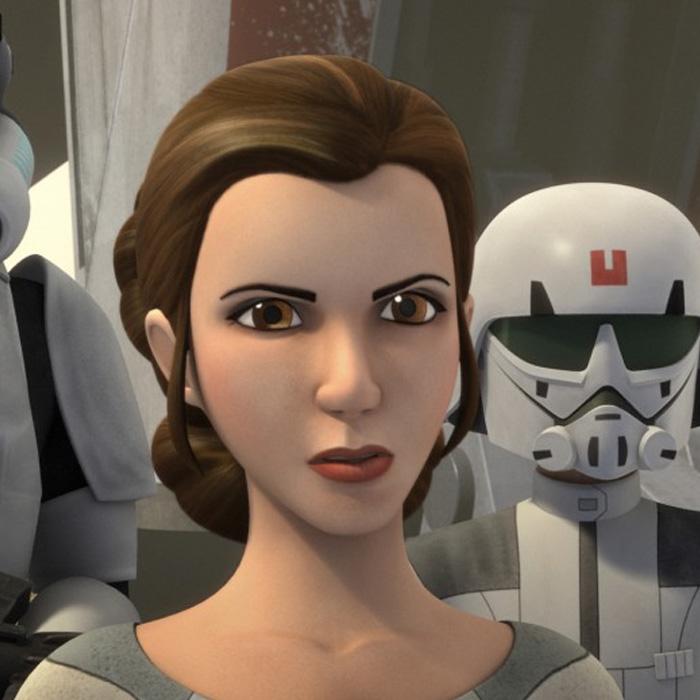 Princesa Leia estará em Star Wars: Rebels!