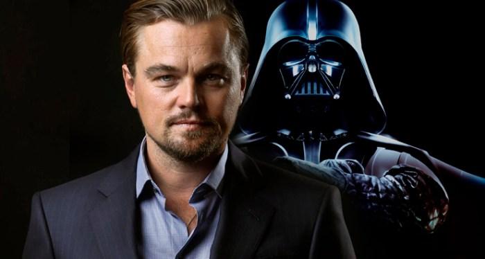 Leonardo DiCarprio quase interpretou Anakin Skywalker