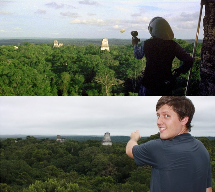 Lugares de Star Wars - Tikal Guatemala 01 (Yavin)
