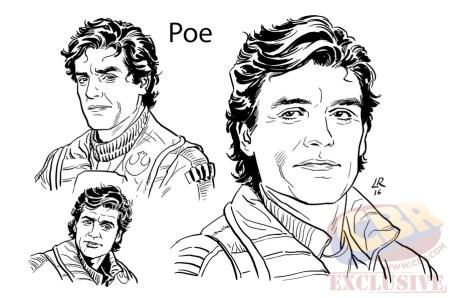 Poe TFA adaptada