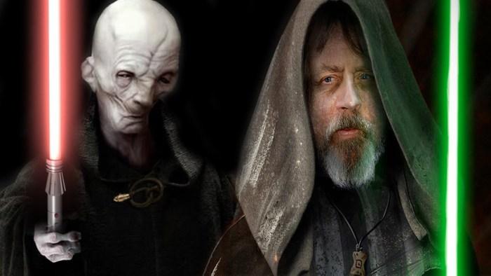 Especulação: Há ligação entre Snoke e Luke?