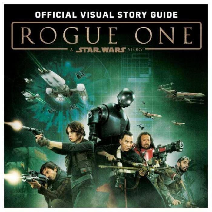 Guia Visual de Rogue One revela vários segredos