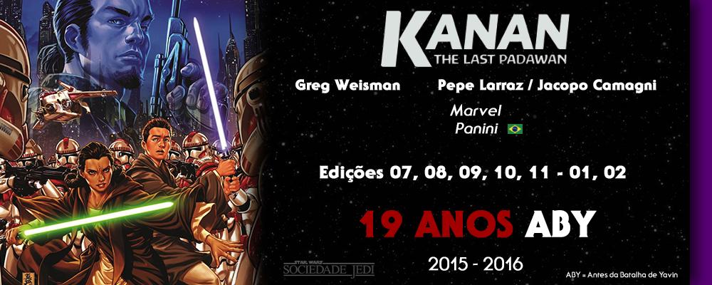 Cronologia Canon - Comic - Kanan 1