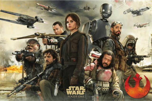 """Darth Vader surge em nova imagem promocional de """"Rogue One"""""""
