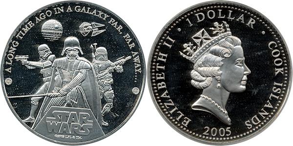 Ilha do Pacífico tem moedas colecionáveis de Star Wars