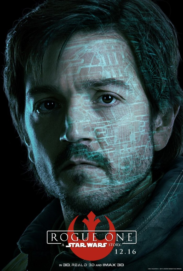 Cassian Andor. Um oficial de inteligência da Aliança Rebelde.