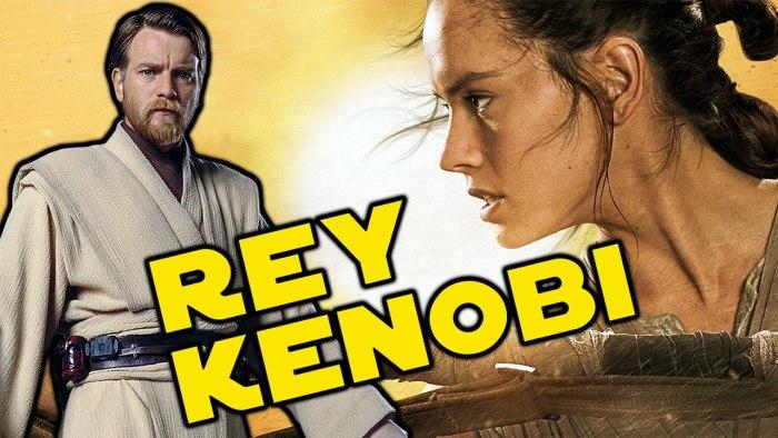 Especulação   Seria Rey descendente de Obi-Wan Kenobi?