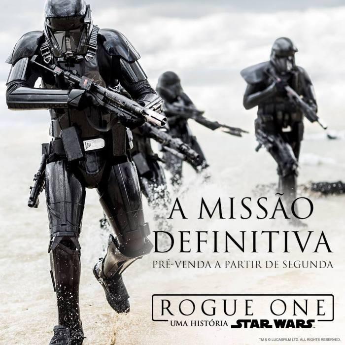 É oficial, a pré-venda de ingressos de Rogue One começa nessa segunda