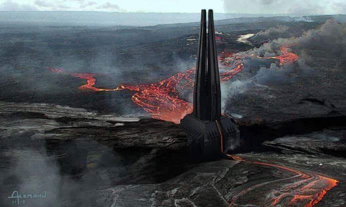 Especulaçao | A fortaleza de Darth Vader em Episódio VIII