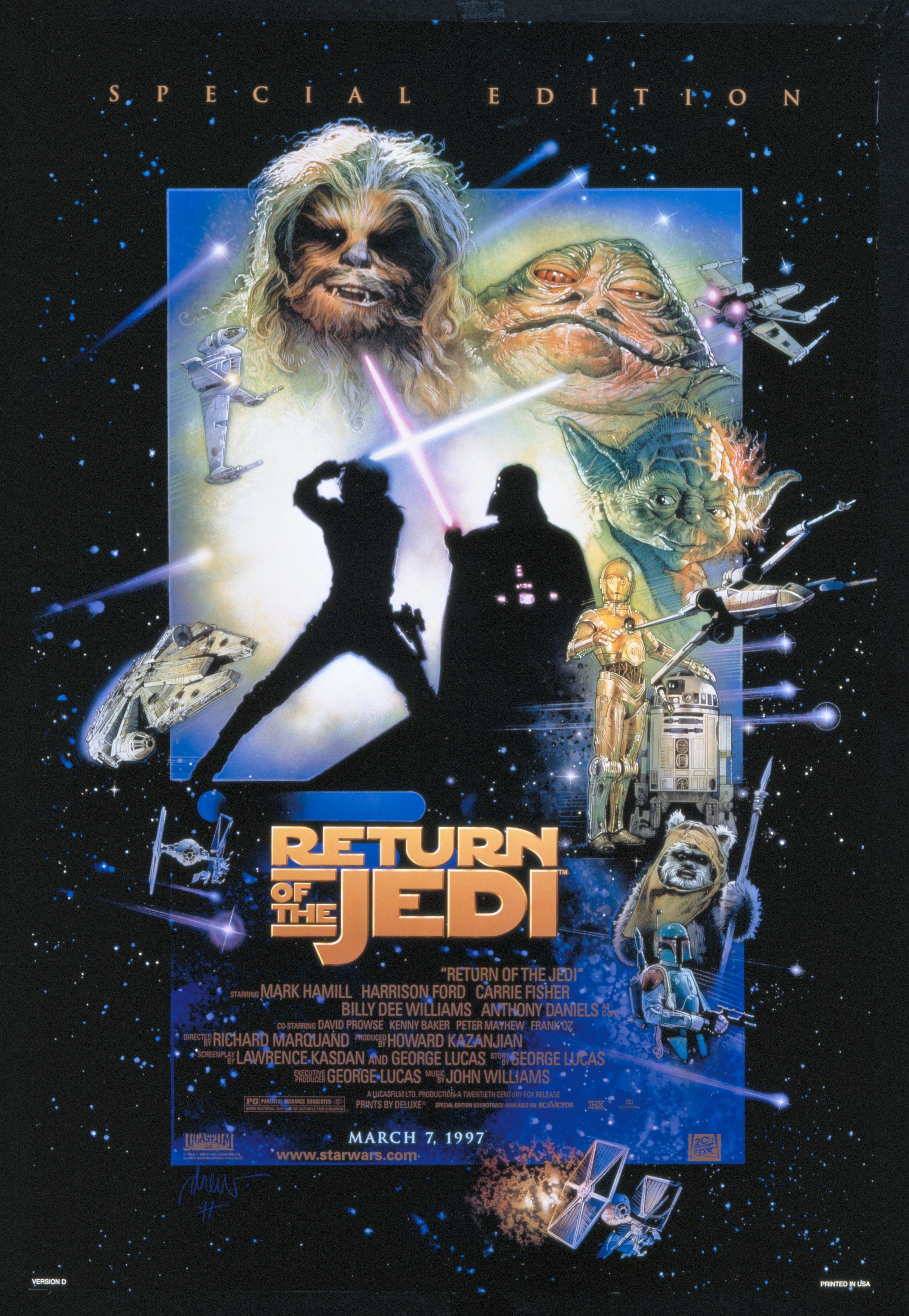 5d8a47a82 Poster do filme (Edição Especial). Star Wars ...