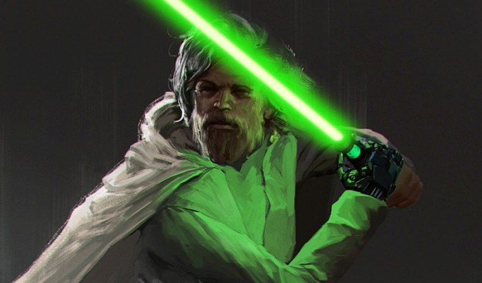 Os Últimos Jedi | Especulação: Luke recupera seu sabre de luz verde