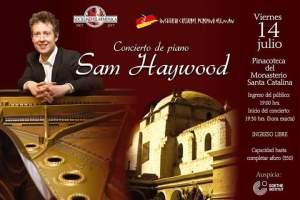 Concierto de Piano de Sam Haywood en Arequipa