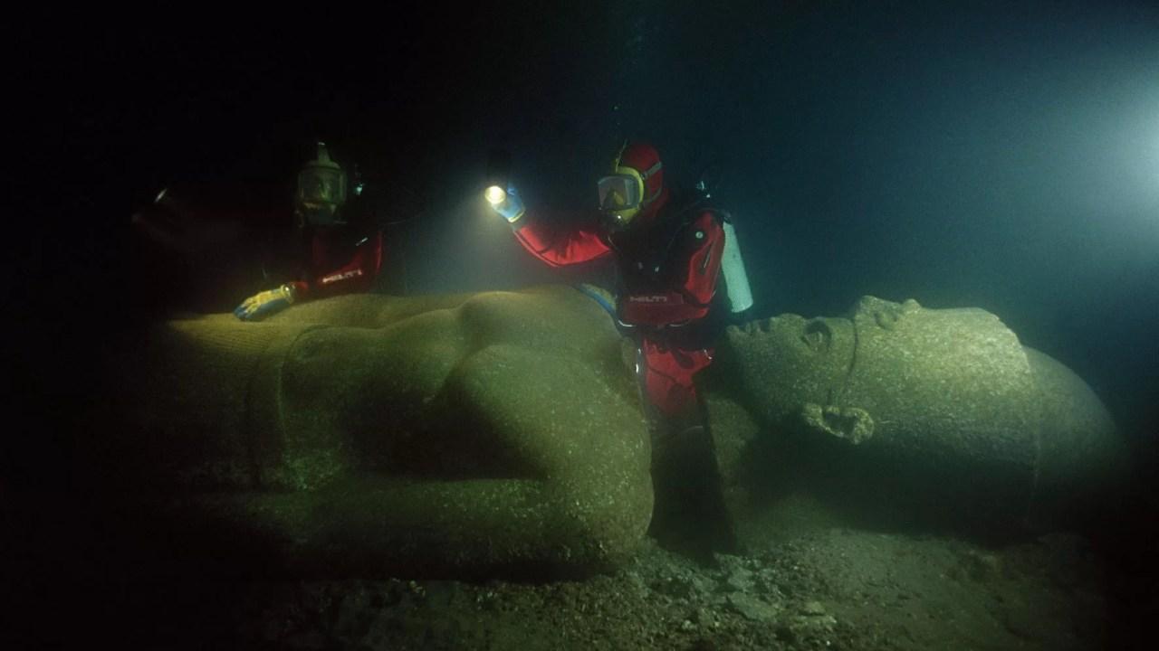 Heracleion, a Atlântida do Egito: a cidade enigmática submersa pelo mar
