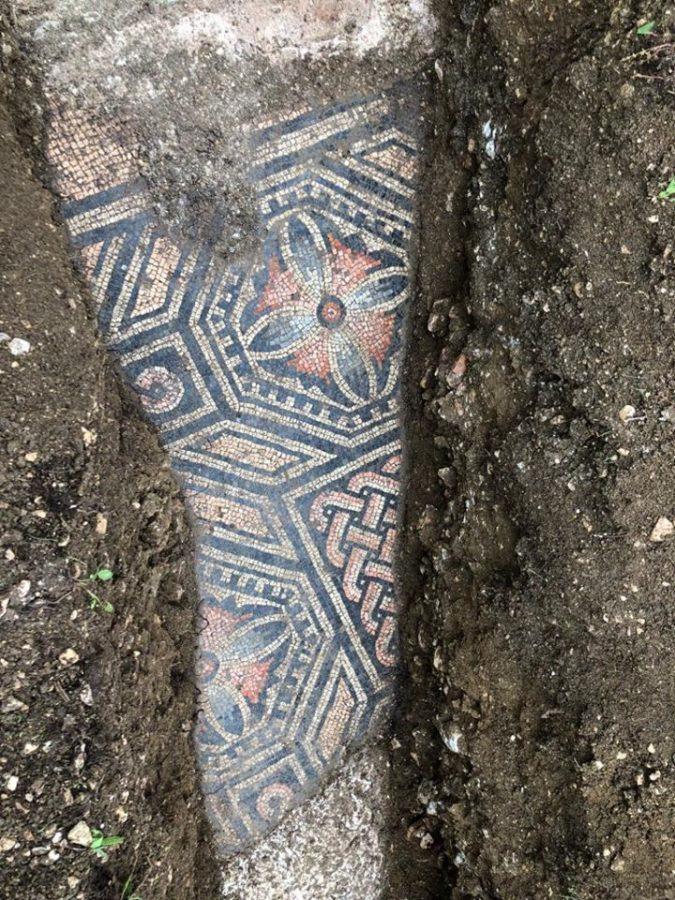 Incrível mosaico romano