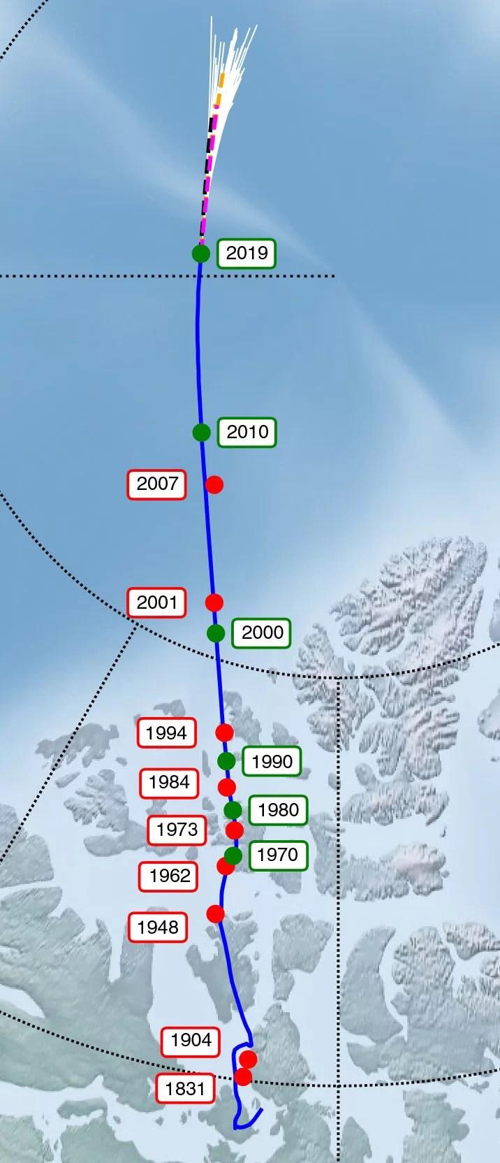 Norte Magnético da Terra