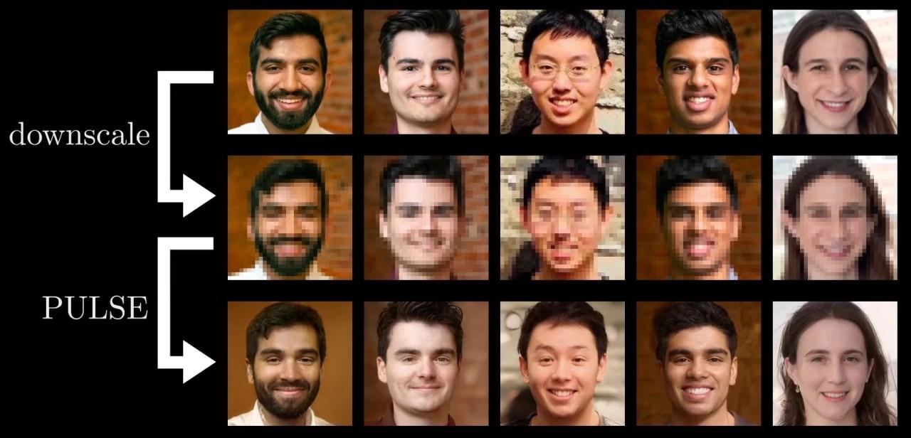 rostos borrados ou pixelados em imagens HD