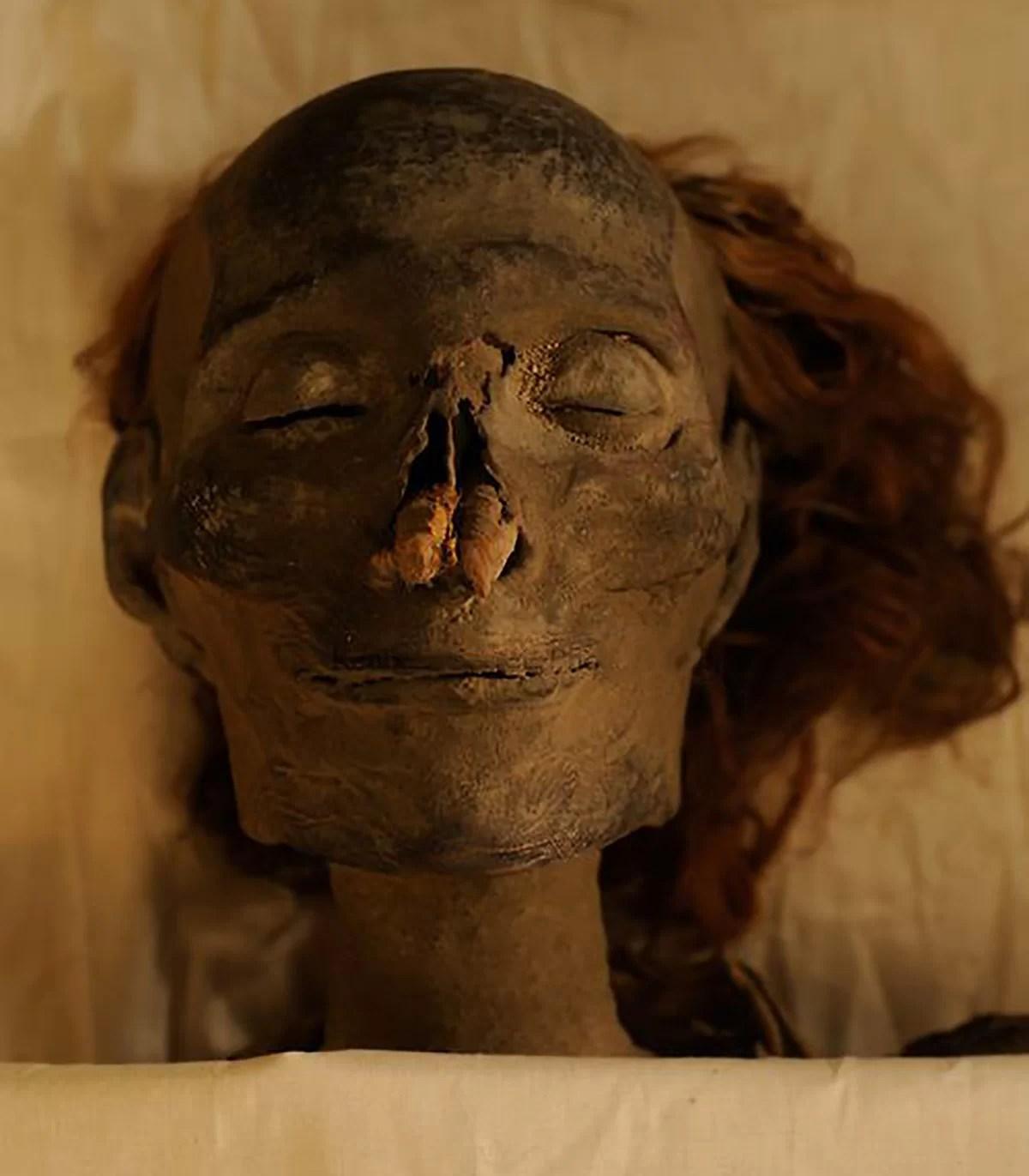 Hashepsut, a múmia que sorri
