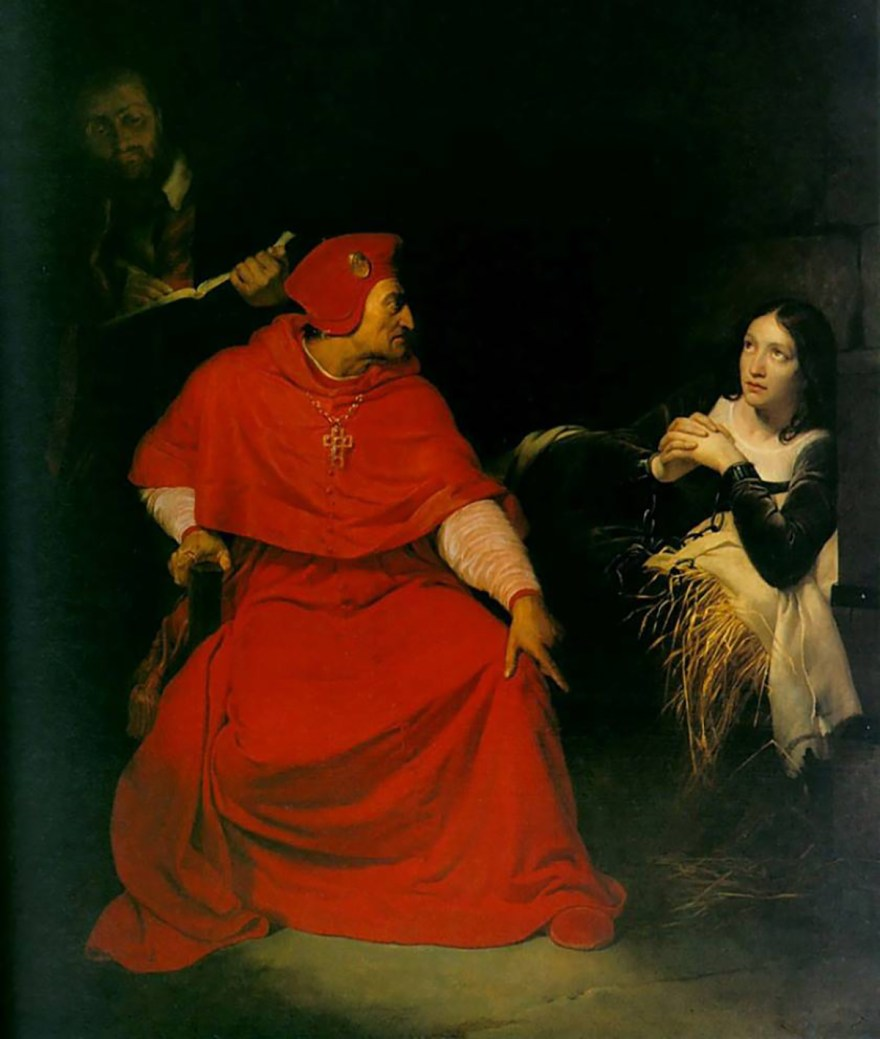 Joana D'Ark é interrogada
