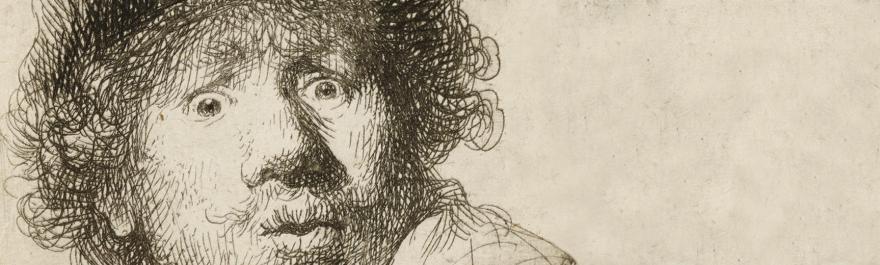 auto-retrato de Rembrandt