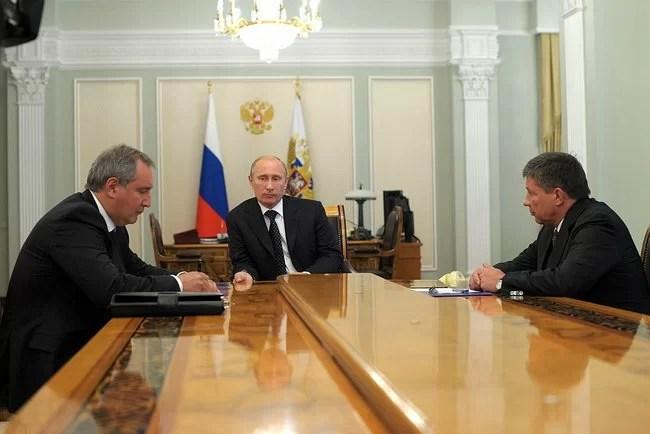 líderes russos