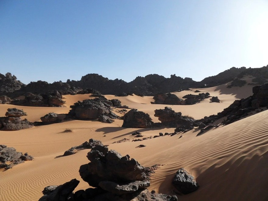 deserto da Líbia
