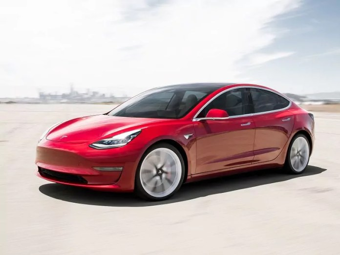 model 3 Tesla Irlande