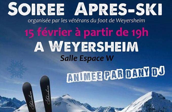 Soirée «Après-Ski» à l'Espace W le 15 février 2020