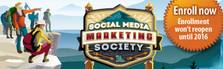 Check out our Social Media Marketing Society!