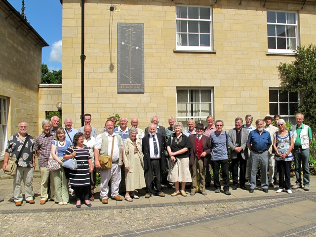 Society members on a Summer Outing to the Radcliffe Observatory at Green Templeton College, Oxford