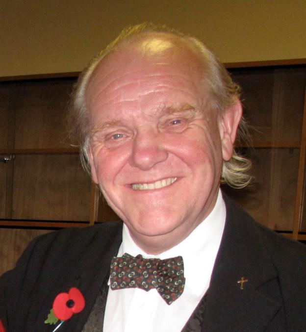 Dr Allan Chapman (picture by Stuart Williams)