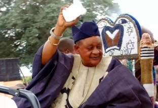 "All The Reasons!...Alaafin Of Oyo Reveals Why He Made Gani Adams ""Aare Ona Kakanfo"""