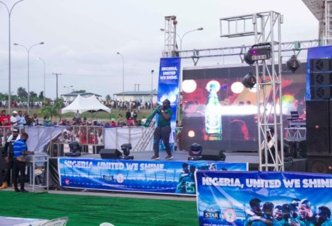 How Star Thrilled Fans With Unforgettable Football & Music As Nigeria Walloped Libya