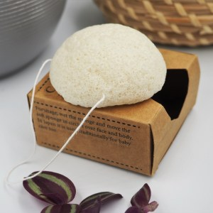 konjac sponge ethical natural botanical zero waste sponge