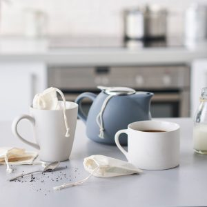 reusable cotton tea bag zero waste scotland shop glasgow