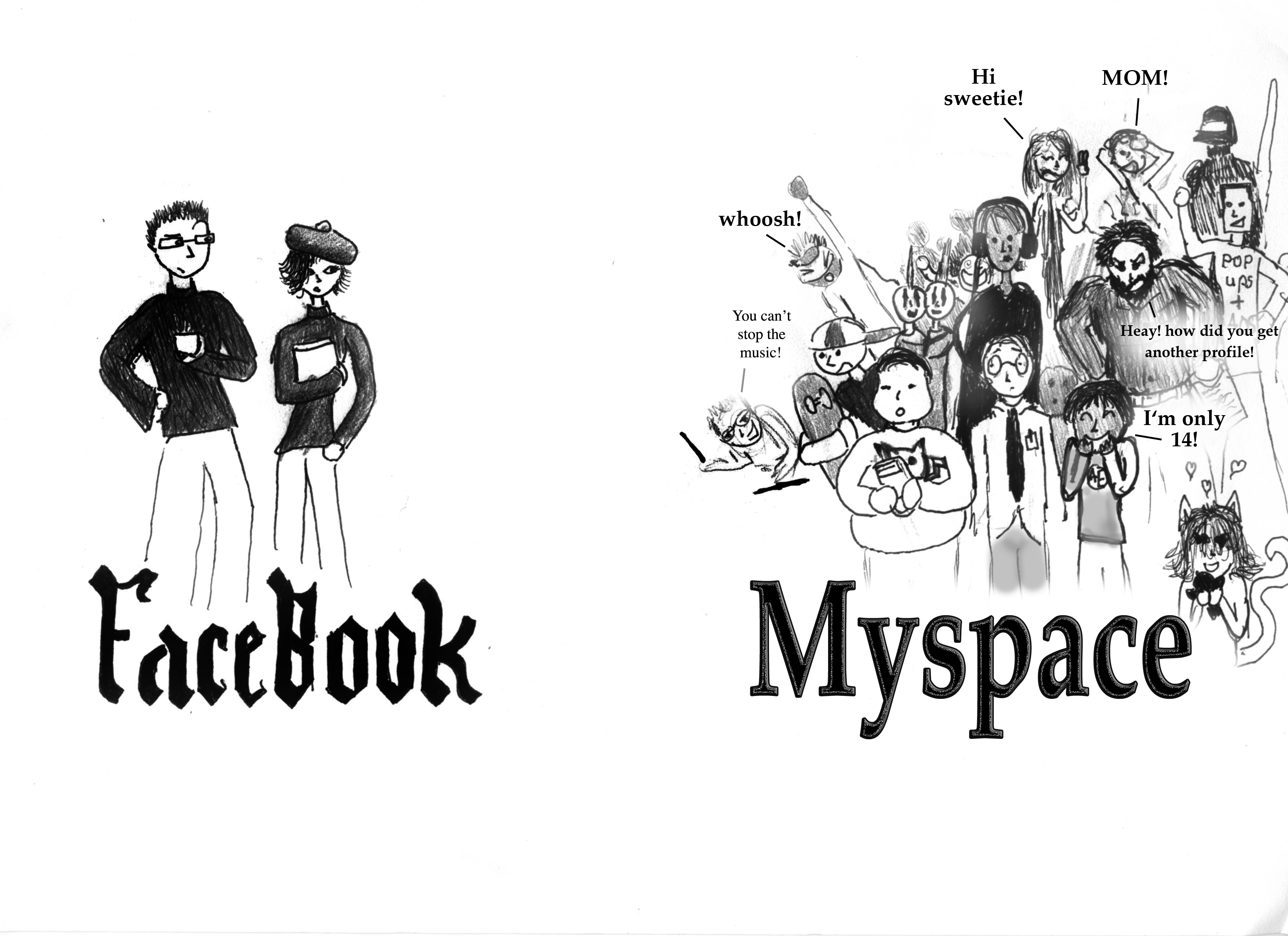 Online Inequality The Facebook Myspace Divide