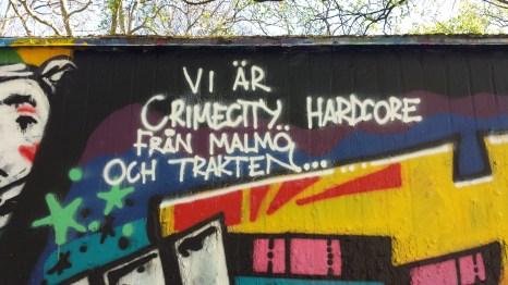 Crime City Hardcore - bilden av Malmö