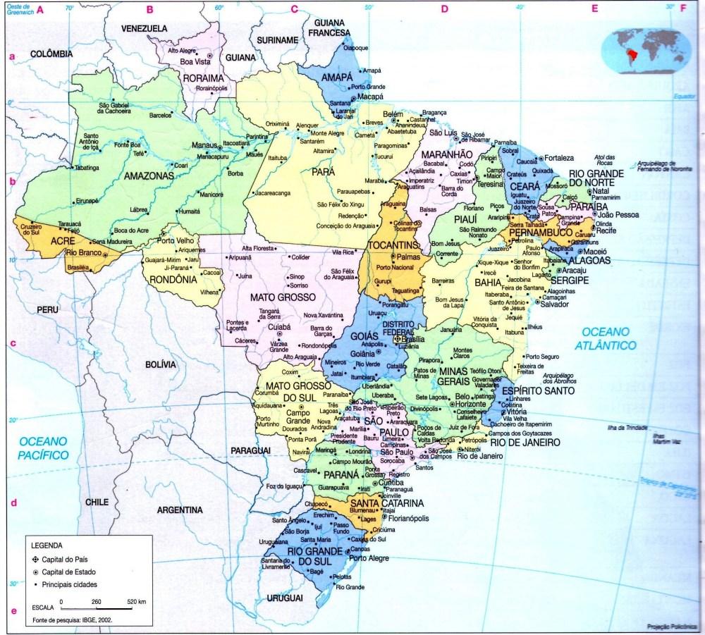 Povoamento e extensão territorial do Brasil (2/2)