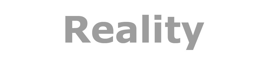 Reality is social