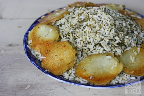Rice with Dill Persian Style