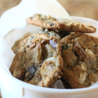 Confetti Chocolate Chip Cookies