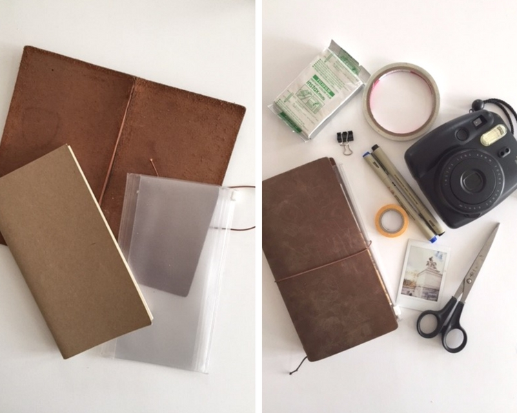 My First Experience with a Traveler's Notebook sockbox10.com