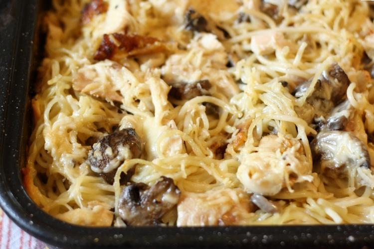 Chicken Tetrazzini Casserole sockbox10.com