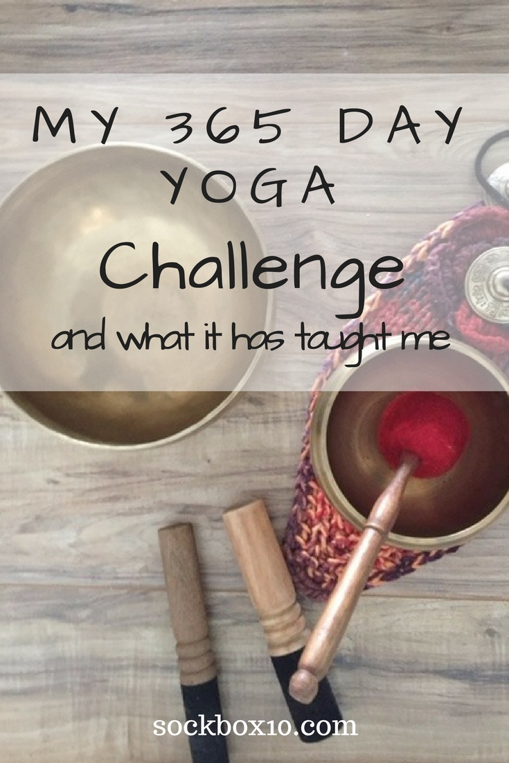My 365 Day Yoga Challenge  sockbox10.com