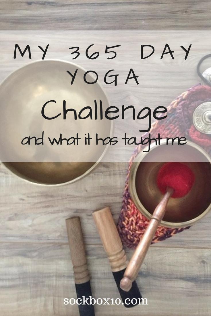 My 365 Day Yoga Challenge  sockbox10.com