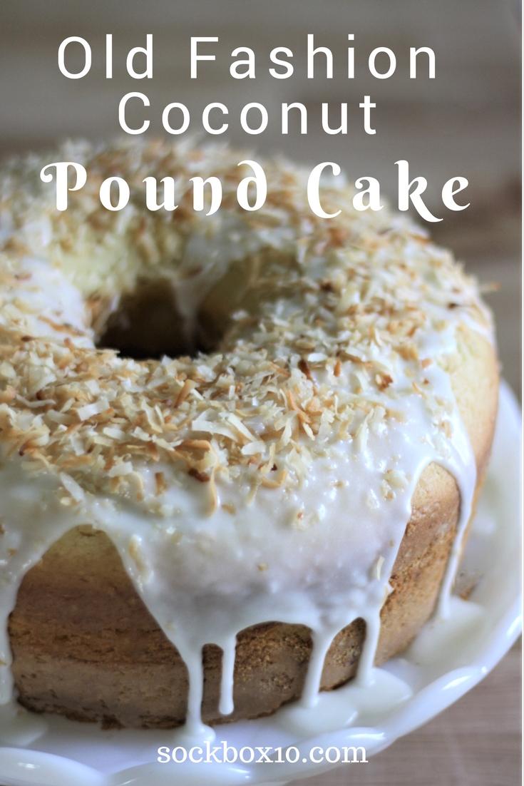 Old Fashion Coconut Pound Cake sockbox10.com
