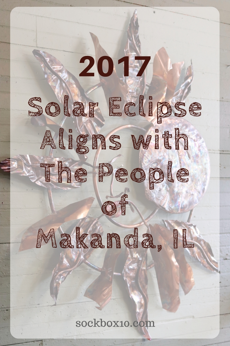 2017 Solar Eclipse Aligns With The People of Makanda IL sockbox10.com
