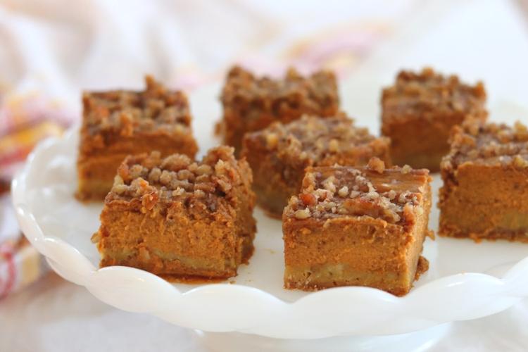 Pumpkin Pie Squares sockbox10.com