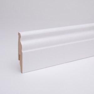 MDF Sockelleiste 60 mm weiß