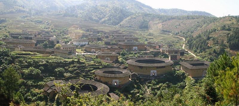 Hakka Tulou traditional Chinese Dwelling
